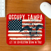 Occupy Tampa Mouse Pad